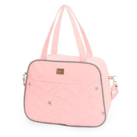 68045b7f83 Bolsa Maternidade Pop Star Rosa - Hug - Hug bolsas - Bolsas e Malas ...