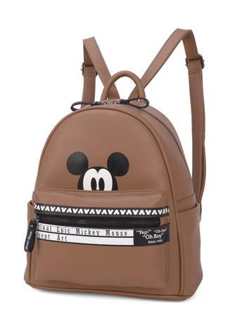 d57a29e33 Bolsa Mochila Disney Mickey Mouse Retrô Marrom Original NF - Bolsas ...
