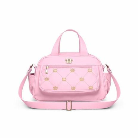 Imagem de Bolsa Para Viagem Térmica Vitoria P Nitex Rosa - Classic For Baby Bags