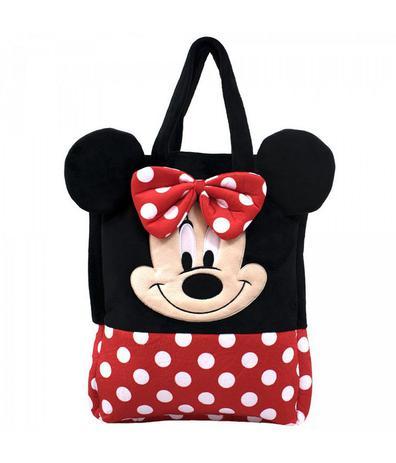 73c7403ec Bolsa Pelúcia Rosto Minnie - Disney - Bolsas e acessórios - Magazine ...
