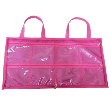 734b39f62 Bolsa porta esmaltes manicure rosa para 120 frascos Rosa Grande - Meu tio  que fez