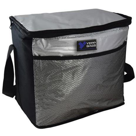 Imagem de Bolsa termica 24 litros portatil ice cooler frasqueira dobravel com alca para refeicao churrasco