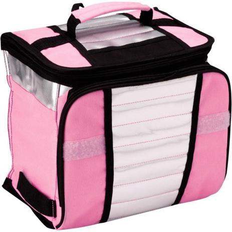 Imagem de Bolsa termica ice cooler 7,5l rosa