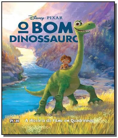Bom Dinossauro A Historia Do Filme Em Quadrinhos Pixel