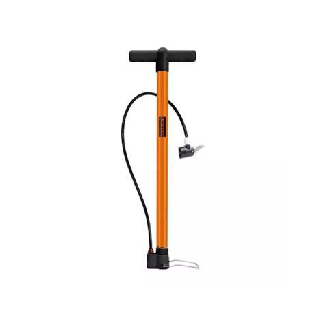 Imagem de Bomba Para Bicicleta De Alta Pressão Laranja Starfer