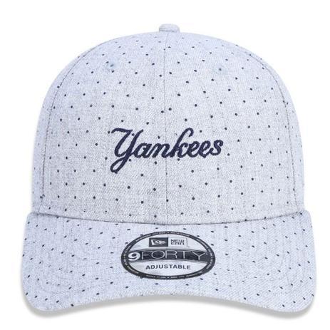 Boné Aba Curva Cinza 940 New York Yankees MLB - New Era - Boné e ... 41e83acba8e