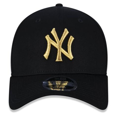 45bda30f68d12 Boné Aba Curva Preto 3930 New York Yankees MLB - New Era - Boné e ...
