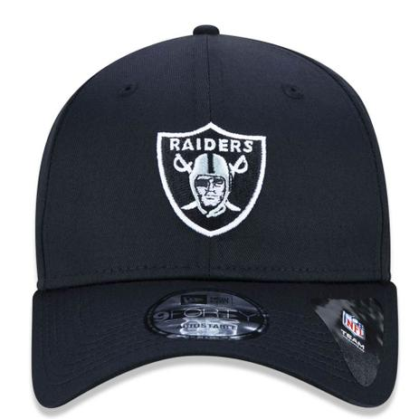 Boné Aba Curva Preto 940 Oakland Raiders NFL - New Era - Acessórios ... 3ac3572d1c6