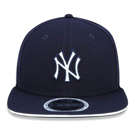 Boné Aba Reta Azul Marinho 950 Original FIt New York Yankees MLB - New Era fe87346b745