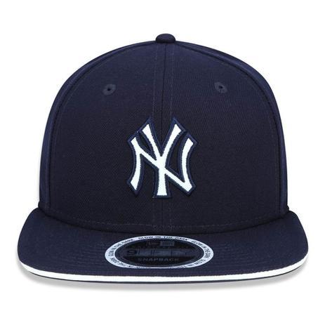 Boné Aba Reta Azul Marinho 950 Original FIt New York Yankees MLB - New Era a05626b198f