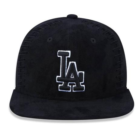 Boné Aba Reta Preto 950 Original FIt Los Angeles Dodgers MLB - New ... 1838f0039fb