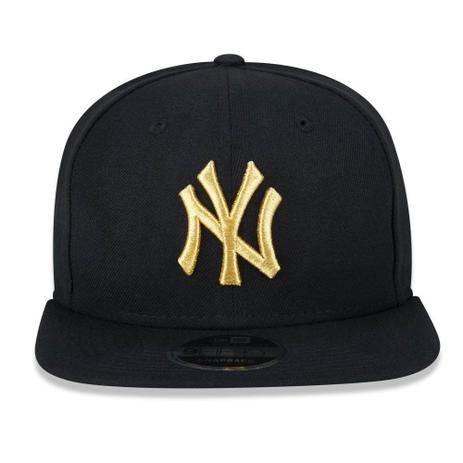Boné Aba Reta Preto 950 Original FIt New York Yankees MLB - New Era ... c0174c3c373