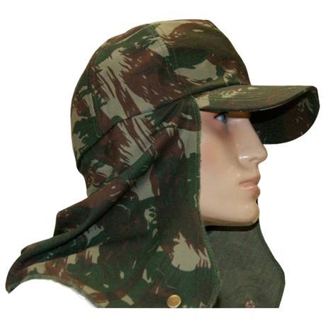 Boné Camuflado EB com Protetor Camping Pesca - Atacado Militar 187-T ... 6676c3caa4d
