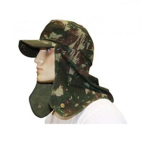 Boné Camuflado EB Exército Brasileiro com Protetor - Mundo do militar bc0a279b4ab