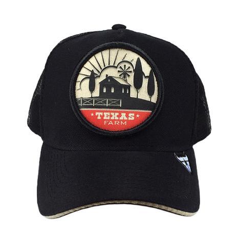 Boné Country Trucker de Telinha Infantil Texas Farm Fazenda - Boné ... 69ab163a353