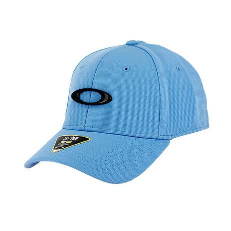 Imagem de Boné Oakley Tincan Cap Azul Bebe Com Logo Preto