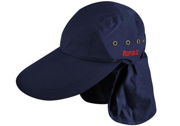 97ac846468722 Boné Rapala com Proteção de Pescoço (Azul ou Cinza) - Boné e Chapéu ...