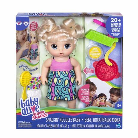 6d51c859a Boneca Baby Alive Adora Macarrão Loira Hasbro C0963 - Boneca Baby ...