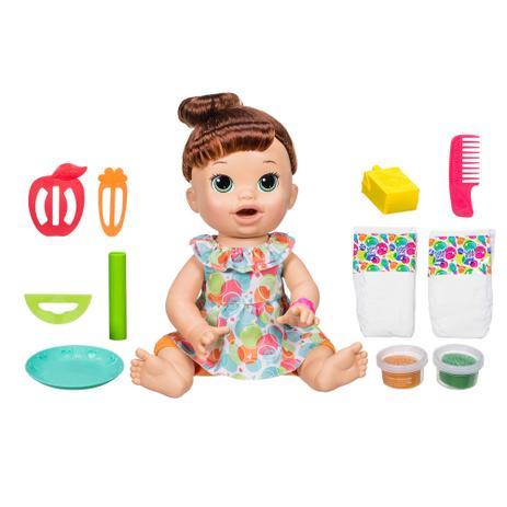 8415eca203 Boneca Baby Alive - Comilona - Morena - E3402 - Hasbro - Boneca Baby ...