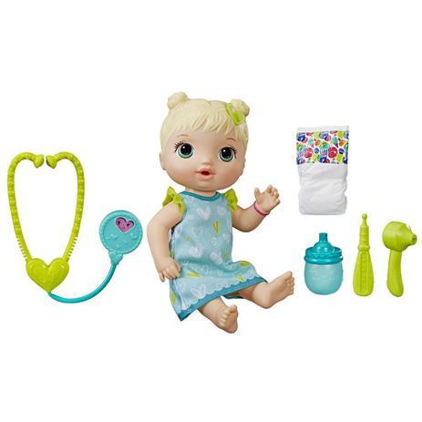 fa48177393 Boneca Baby Alive - Cuida de Mim - Loira - Hasbro - Boneca Baby ...