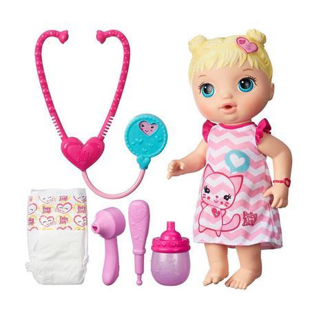 68a5a30cbb Boneca Baby Alive Cuida De Mim Loira Original B5158 Hasbro - Boneca ...