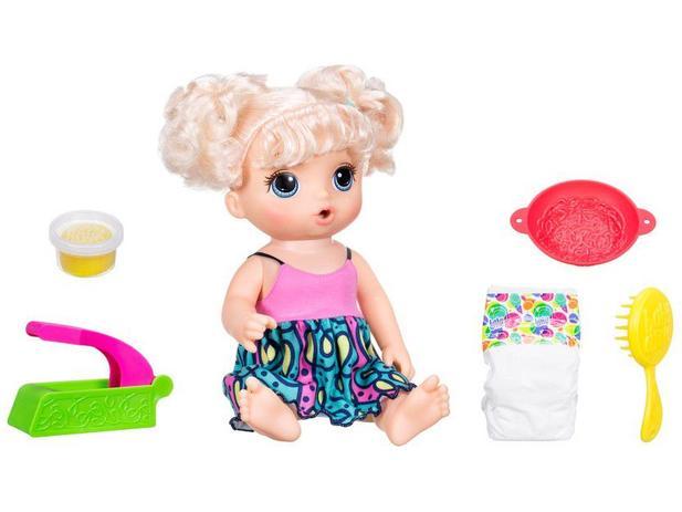 9ff4e4e8b2 Boneca Baby Alive Espaguete com Acessórios - Hasbro - Boneca Baby ...