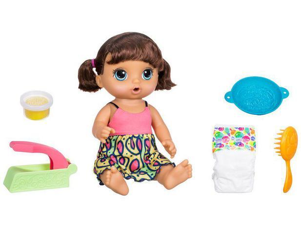 4e844655ec Boneca Baby Alive Espaguete com Acessórios - Hasbro - Boneca Baby ...