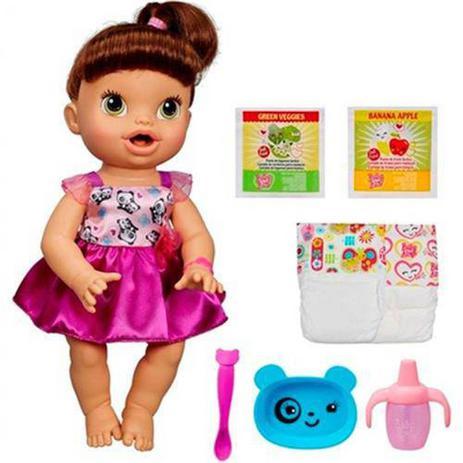 Imagem de Boneca Baby Alive Hora de Comer Morena - Hasbro