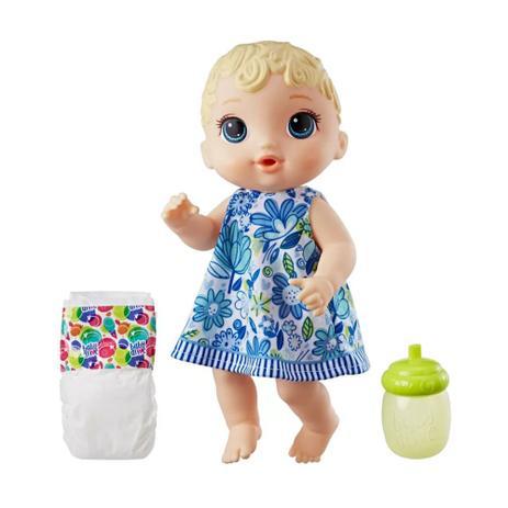 273abb8425 Boneca Baby Alive - Hora do Xixi Loira Vestido Florido - Hasbro ...