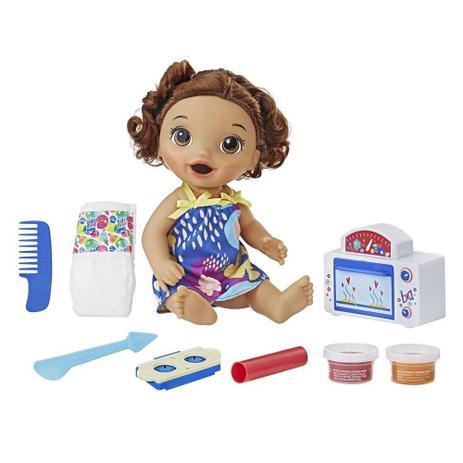 3f0599ed48 Boneca Baby Alive Meu Primeiro Forninho Morena Hasbro - E2098 ...