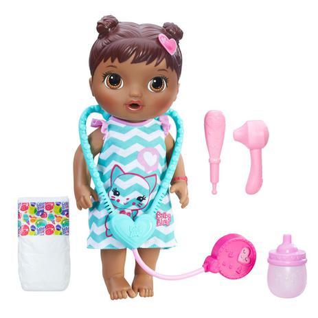 529690b8f6 Boneca Baby Alive - Negra - Cuida de Mim - C2693 - Hasbro - Boneca ...