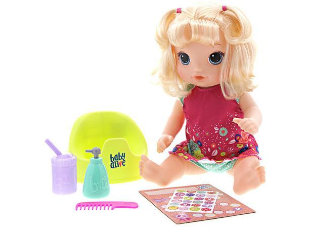 cfa94c3151 Boneca Baby Alive Primeiro Peniquinho - com Acessórios Hasbro ...