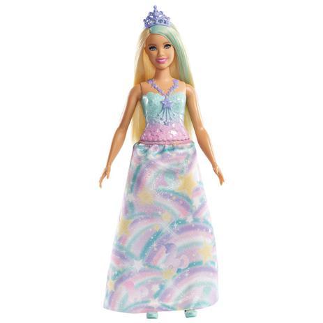 7707642b1f Boneca Barbie - Barbie Dreamtopia - Princesas - Loira - Mattel ...