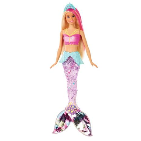 ced8916025 Boneca Barbie - Barbie Dreamtopia - Sereia com Luzes - Mattel ...