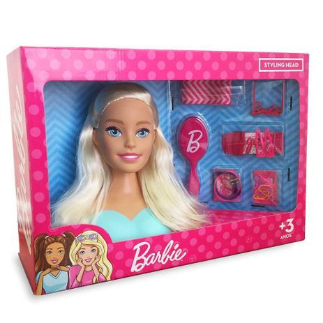 Imagem de Boneca Barbie Busto - Pupee 1255