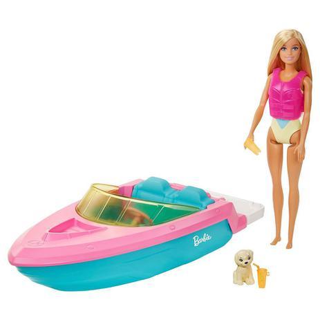 Imagem de Boneca Barbie - Estate Com Barco - Mattel