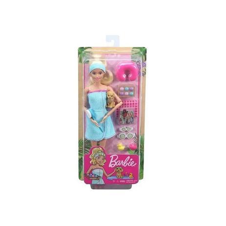 Imagem de Boneca Barbie Fashionista Dia de Spa - GKH73 - Mattel