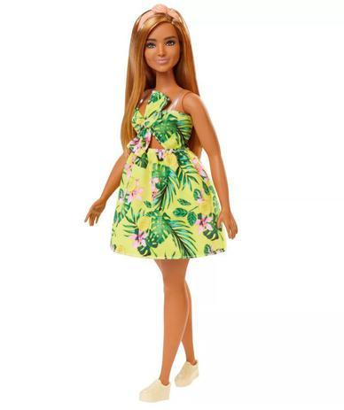Imagem de Boneca Barbie Fashionistas - 126 Vestido Selva