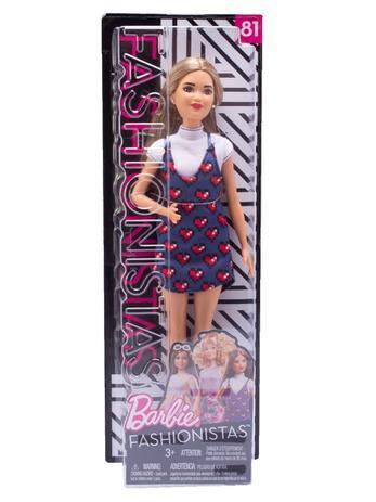 a338ed7509 Boneca Barbie Fashionistas N81 - Mattel - Boneca Barbie - Magazine Luiza