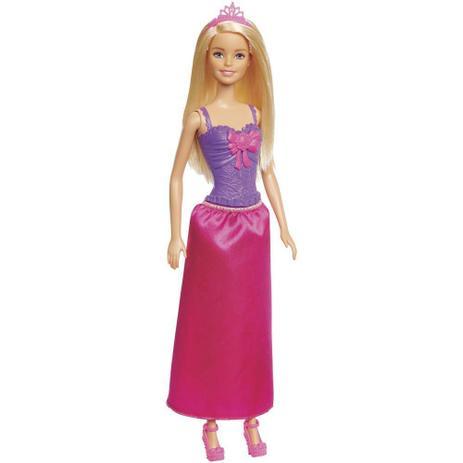 56cba10838 Boneca Barbie Princesa Loira - Mattel GGJ94 - Boneca Barbie ...