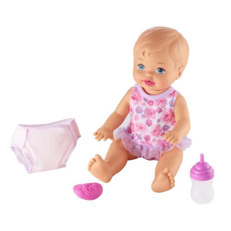 db3084896a Boneca Bebê - Little Mommy - Faz Xixi Deluxe - Mattel - Boneca ...