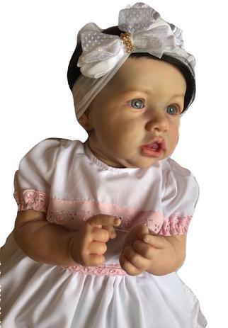 8bbe11854 Boneca bebê Reborn Ana Julia autentica com corpo inteiro - Baby dollls