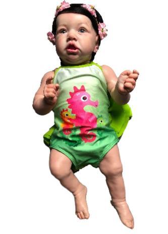 6bc273949 Boneca Bebe Reborn Summer com corpo inteiro siliconado - Baby dolls ...
