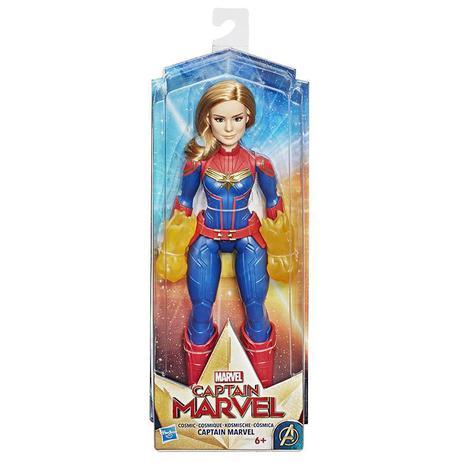 Imagem de Boneca Capitã Marvel Cósmica - Hasbro E4565