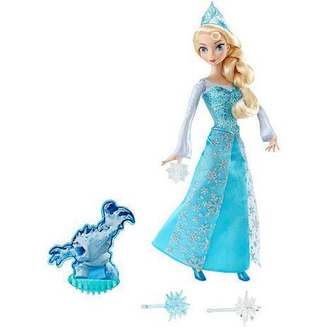 18a1d8e8b5 Boneca Disney Frozen Princesa ELSA em Açao Mattel CGH15 - Bonecas ...