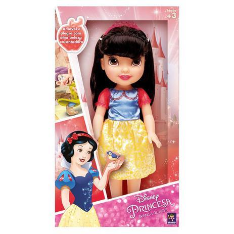 b8ba79fe4a Boneca Disney Princesa Branca De Neve 30 Cm 6502 - Mimo - Bonecas ...
