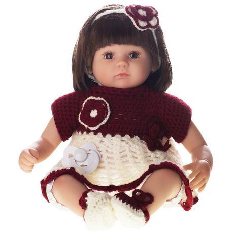 ae2f7aed43 Boneca Laura Doll Baby - Helena - Shiny Toys - Bonecas - Magazine Luiza