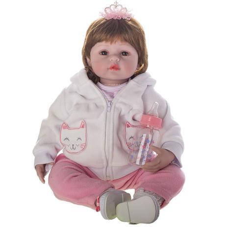 431a7b6860 Boneca Laura Doll Baby - Julia - Shiny Toys - Bonecas - Magazine Luiza