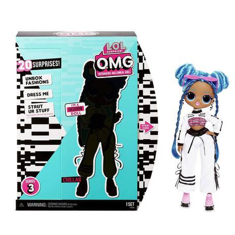 Imagem de Boneca LOL OMG - Outrageous Millennial Girls - Chillax - Candide