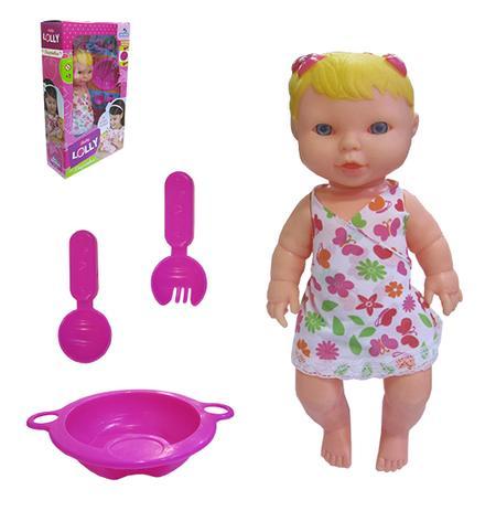 8a4b739858 Boneca lolly baby papinha com acessorios na caixa - Adijomar ...